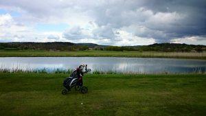 Golfbanor där man kan bo i husvagn